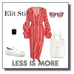 """Less is more"" by elitstil on Polyvore featuring Johanna Ortiz, Ray-Ban and French Connection"
