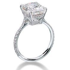 2.61 Carat Radiant Cut Diamond Engagement by OutrageousDiamonds