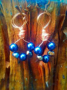 Baroque fresh water black pearls by Lemurianfields on Etsy