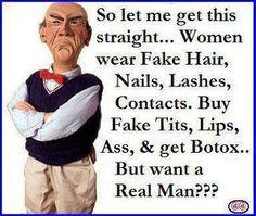 Women want real Men !