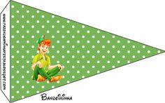 Peter Pan: tarjetería para imprimir gratis.