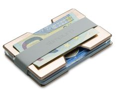 SLIMPURO ® Mini Kreditkartenetui aus Aluminium mit Münzfach und Geldklammer - RFID Schutz - für viele Scheckkarten - Geldbörse, Portmonee Damen, Roségold EUR 29,90 Aluminium, Money Clip, Wallet, Women's, Pocket Wallet, Purses, Money Clips, Diy Wallet, Purse