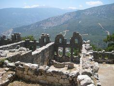 Ancient ruins at Arykanda in Turkey
