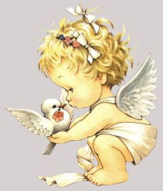 Image Detail for - RM_Angel_with_Dove_eunice_Sm_LDM.gif PRECIOUS MOMENTS