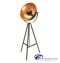 A86121BLK; 1LT TRIPOD FLOOR LAMP - BLACK/GOLD - Google Search Fortuny Lamp, New Home Designs, Tripod, Floor Lamp, Lightning, Black Gold, New Homes, Home Appliances, House Design