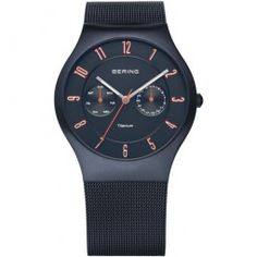Bering Classic Collection Multifunktions Herrenuhr 11939-393