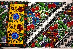Meta Description An exclusively handmade heavy bead embroidery work on Romanian blouse with thousands beads stitches. The art of beading performed by Beaded Embroidery, Embroidery Patterns, Point Lace, Beautiful Crochet, Animal Photography, Crochet Stitches, Cotton Canvas, Weaving, Artisan