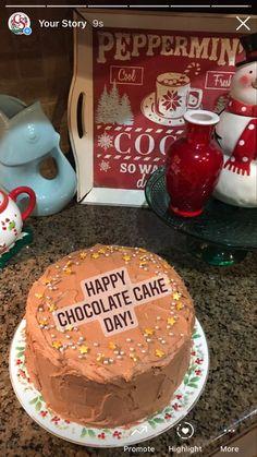 I looooove this chocolate cake!