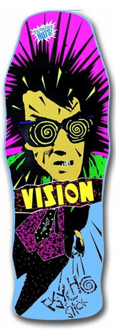 Vision Original Psycho Stick Reissue Skateboard Deck