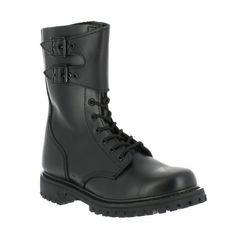 Chaussures rangers cuir type armée Française de marque OPEX, montage Good Year sur vetsecutite.fr