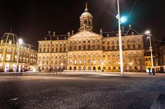 Het Koninklijk Paleis op de Dam in Amsterdam