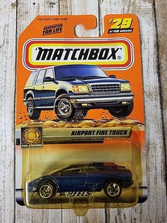 Awesome Great MATCHBOX ERROR CARD Airport Fire Truck /Lamborghini Diablo***  2017-2018 Check more at http://fords.ga/great-matchbox-error-card-airport-fire-truck-lamborghini-diablo-5c-2017-2018/