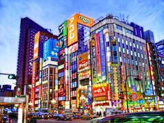 For total neon immersion head to the wealthy shopping area Ginza, crowded Shinjuku or Akihabara (otherwise known as 'Electric City'). Recreate a scene from Blade Runner by picking up barbecued skewered chicken on a trip to Shinjuku's Memory Lane (Omoide Yokocho).