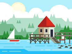 Dock by Scott Tusk #Design Popular #Dribbble #shots