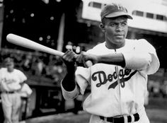 It's Jackie Robinson Day today in #MLB - please remember this great man and great baseball player.  #42