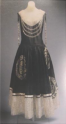 Jeanne Lanvin Dress -1924 (photo from Haute Couture, Metropolitan Museum of Art book)