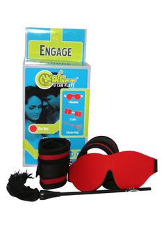 Buy Whip Smart Engage Bondage Kit Fire Red online cheap. SALE! $51.49