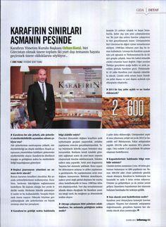 kasım 2011 İnfomag. Karafırın/ kurumsal