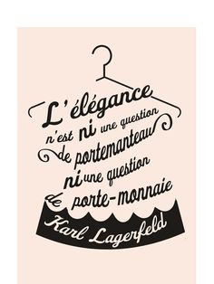 Citation Karl Lagerfeld - MyLittleApp