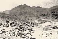 the Arizona town of Clifton on the banks of the San Francisco River - Modern Old West, Grand Canyon, Garden Design, Arizona, Vintage World Maps, Modern Design, Past, San Francisco, Banks