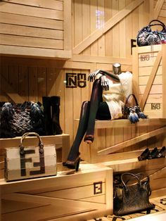 "FENDI,Tokyo,Japan, ""Linda is moving on"", close-up, pinned by Ton van der Veer"