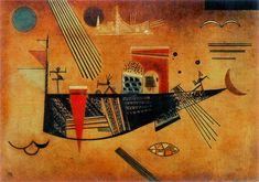 Wassily Kandinsky, Capricious on ArtStack #wassily-kandinsky-vasilii-vasil-ievich-kandinskii #art