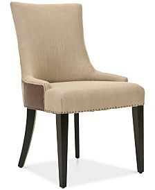 Furniture Prince Accent Chair, Quick Ship & Reviews - Furniture - Macy's Wingback Accent Chair, Accent Chairs, Dinning Chairs, Dining, Prince, Baby Room Lighting, Mattress Brands, Space Furniture, Nailhead Trim