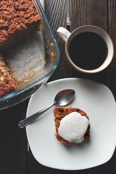 happy hearted kitchen: Apple Coconut Cake & Raw Cashew Cream