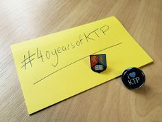 At UoB we're celebrating the 40th anniversary of the KTP scheme. Share your KTP experiences using #40yearsofKTP