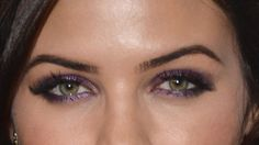 Date Night Makeup Idea: Jenna Dewan-Tatum's Seriously Sexy Purple Smoky Eyes: Girls in the Beauty Department: Beauty: glamour.com