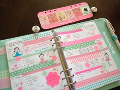Filofax Decorating - working on getting my kikki k this colorful and cute!