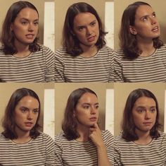 Every facial expression she makes is perfect Daisy/rey ❤