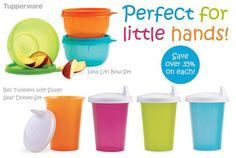 Ensure a dry baby bag with these classic Tupperware favorites! #Tupperware Contact Prep & Store - Colleen Noyes ~ Independent Tupperware Consultant for all your Tupperware US & Canada - Consumer Needs! http://order.tupperware.com/coe/app/home