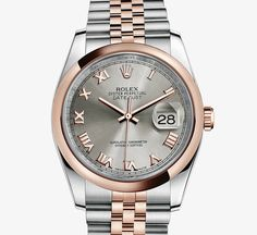 ♛ Rolex 18k white gold / diamonds ♛ https://www.facebook.com/ThePerfectGiftForYourselforSomeoneElse | Watches etc | Pinterest