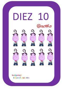 Tarjetas de Números Inside Out 1-20 (10) Family Guy, Games, Character, Feelings, Preschool Body Theme, Preschool Math Activities, Card Games, Gaming, Plays