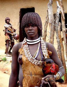 Photograph HAMAR LADY - ETHIOPIA by Michael Sheridan on 500px