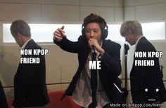 [Yup, that's how it is for me....] the moment when singing korean song in the karaoke | allkpop Meme Center