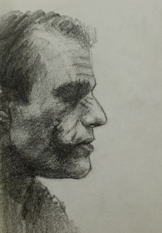 Joker: A Pencil Study by vee209 on deviantART