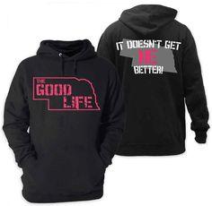 Nebraska sweatshirt, I think I need this:)