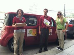 Swarm Car delivery in Denver. Cookies all around!