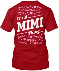 IT'S A MIMI THING...
