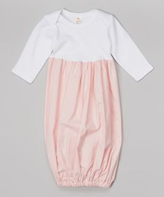 Look at this Lolly Gags Baby Pink Gown - Infant on #zulily today!