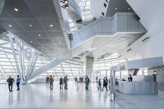 coop himmelb(l)au presents new images of musée des confluences in lyon