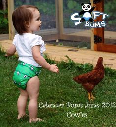SoftBums June Limited Edition Print -- Cowies!