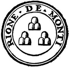 Il simbolo del Rione Monti, uno degli storici quartieri di Roma.