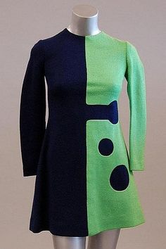 A Pierre Cardin retro mini dress