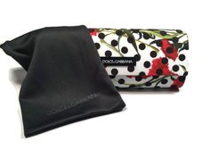 Dolce Gabana Glasses Sunglasses Spain in Sicily Collection Case ONLY w/Microbag