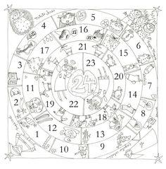 ADVIENTO Y NAVIDAD: Mandala de Navidad