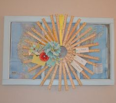 Back-to-School Wooden Ruler Wreath http://1pureheart.blogspot.com/2011/08/back-to-school-wreath.html