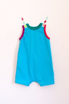Coming in from Harford! summery sleeveless romper | sky blue